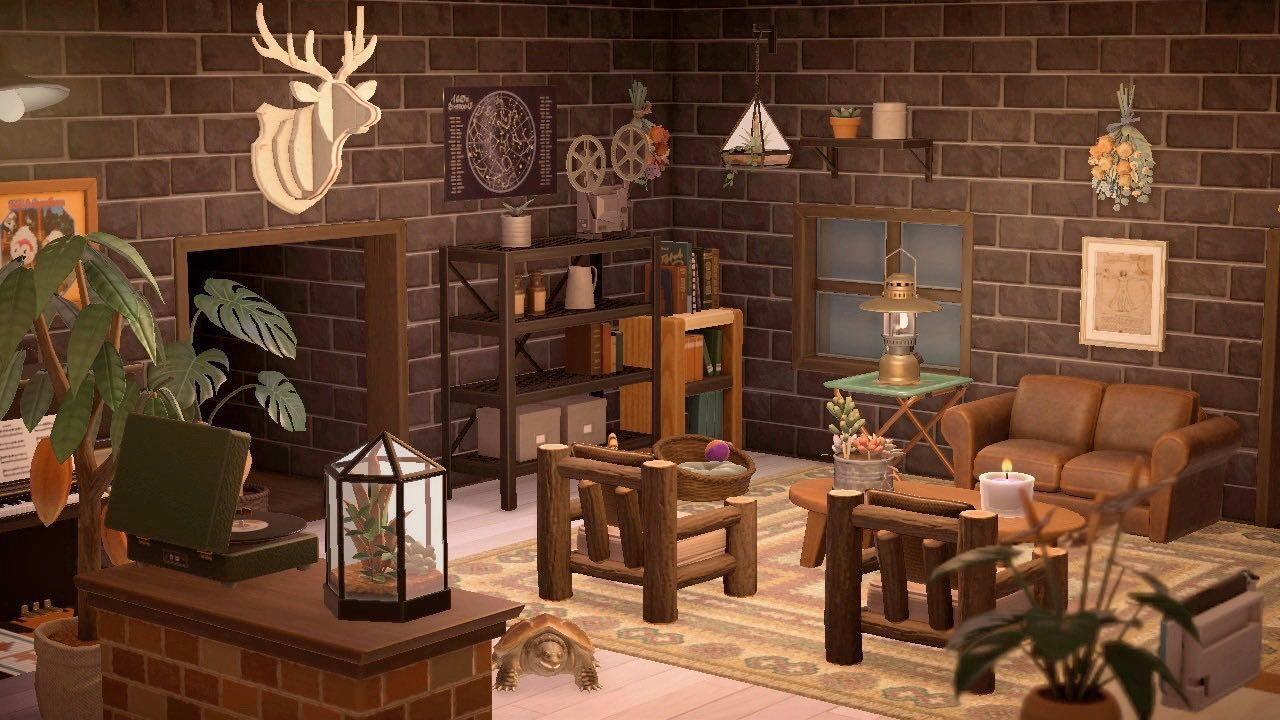 Pin on Animal Crossing on Animal Crossing Living Room Ideas  id=40673