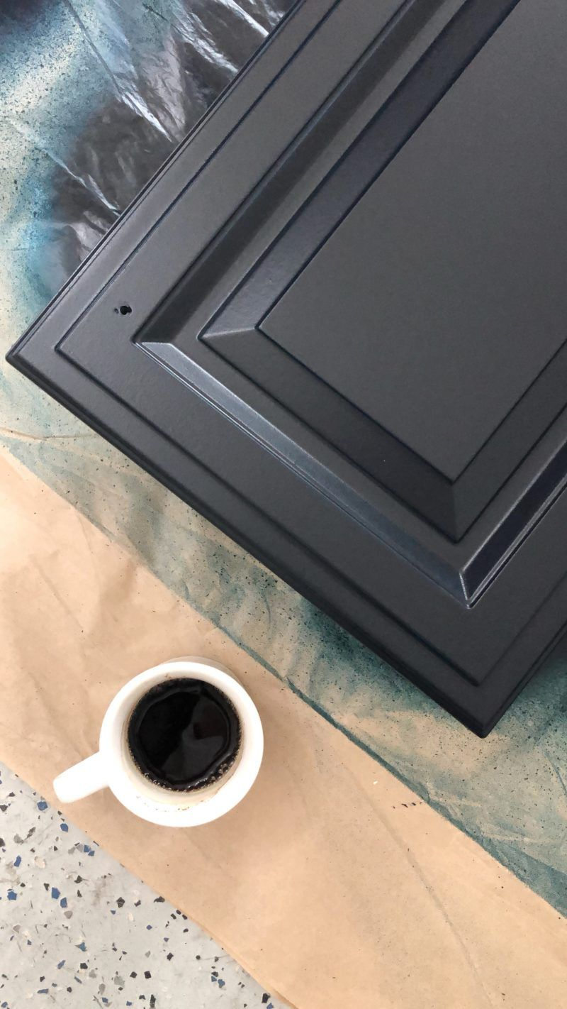 How To Paint Thermofoil Cabinets A Thoughtful Place In 2020 Thermofoil Cabinets A Thoughtful Place Thermofoil Kitchen Cabinets