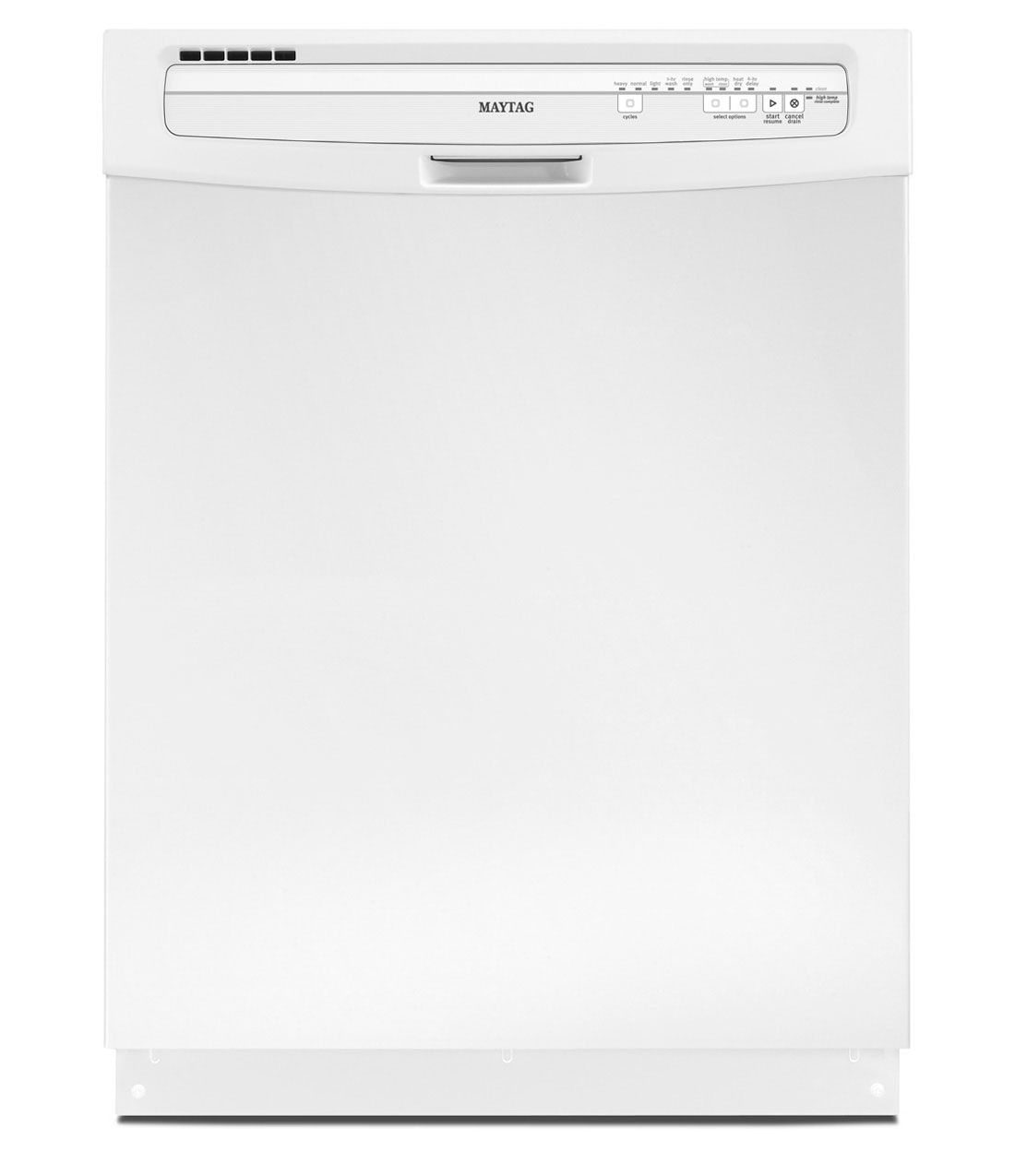 Maytag Jetclean Plus Dishwasher With High Temperature Wash Option Mdb4409paw Maytag Laundry Appliances Top Rated Dishwashers