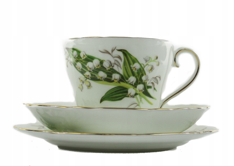Antyk Filizanka Trio W Konwalie Adderleys 7911779005 Oficjalne Archiwum Allegro Tea Cups Glassware Tableware