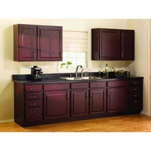 Beau Cabernet Color For Cabinets.