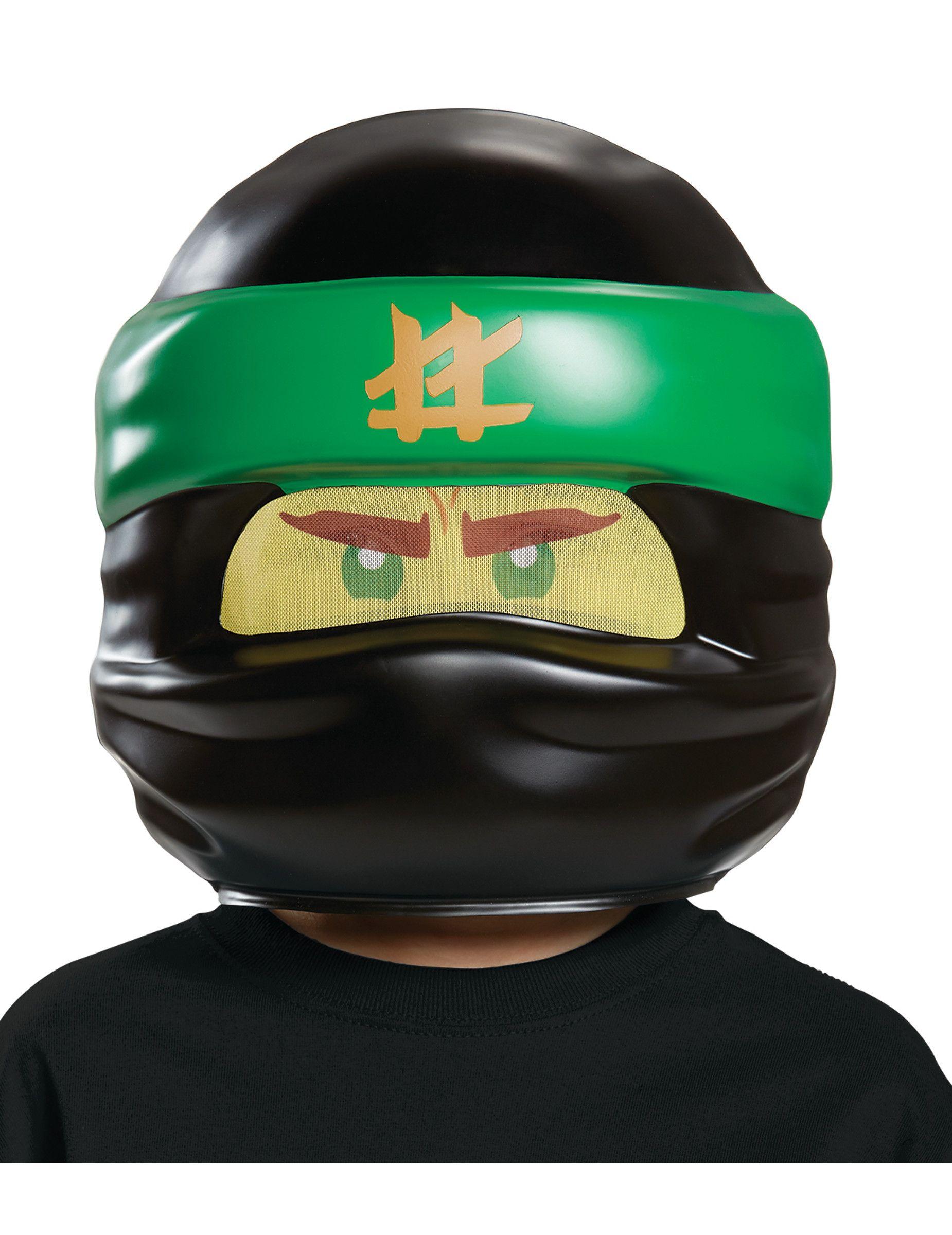 LEGO™ Ninjago™ Kindermaske Lloyd Lizenzware schwarz-grün  d38678c81bc
