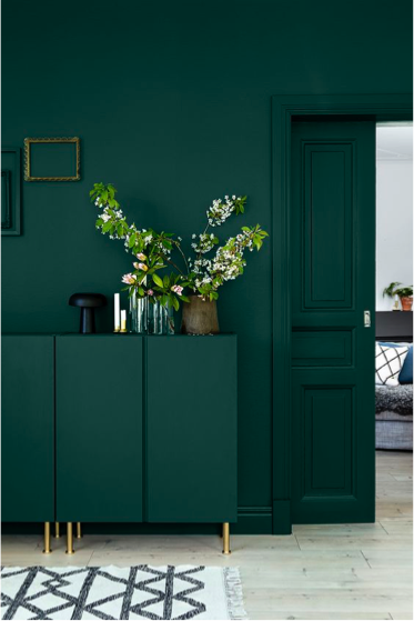 Chic And Clever Ways To Decorate With Ikea Domino Green Interiors Home Decor Interior