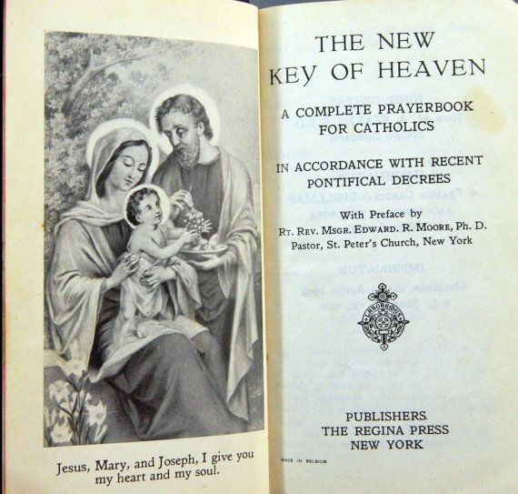 New Key of Heaven Complete Prayerbook for by