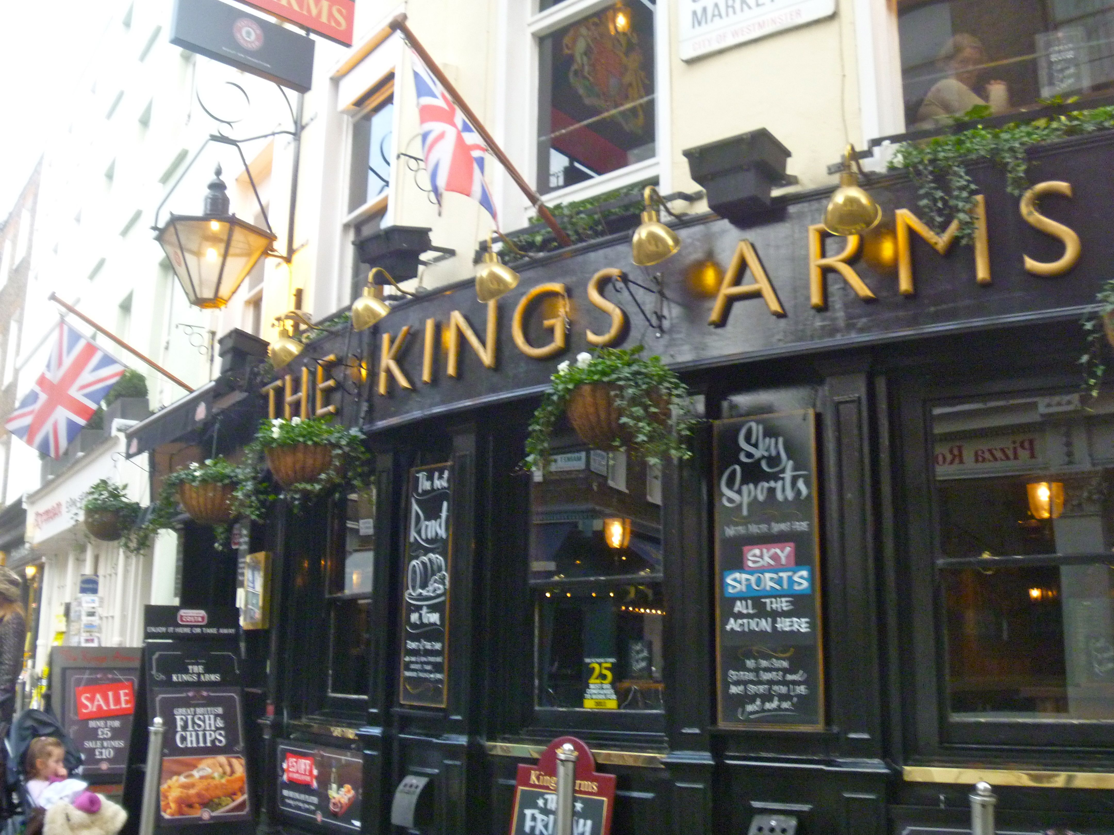 Kings Arms, London Broadway shows, London, Arms