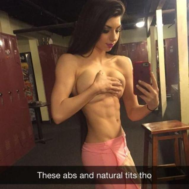 Agree, nude girls with big tits abs