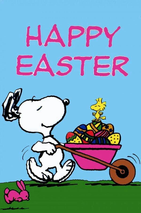 Happy Easter Snoopy Easter