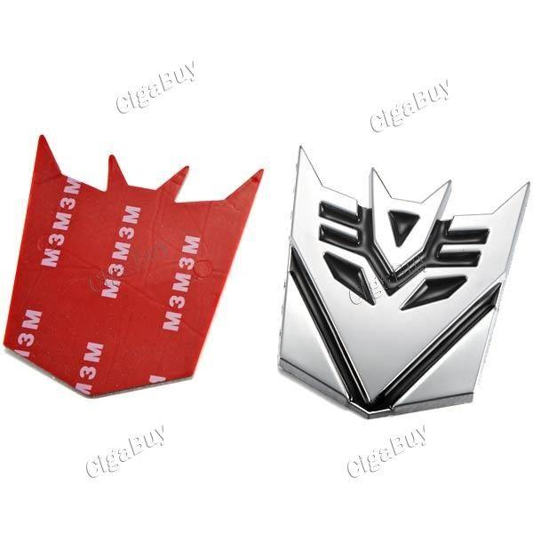 3D Metal Transformers Decepticon Emblem Badge for Car Decoration  http://www.cigabuy.com/ru/3d-metal-transformers-decepticon-emblem-badge-for-car-decoration-p-3876.html  Product Features: 3D Decepticon logo car decoration emblem