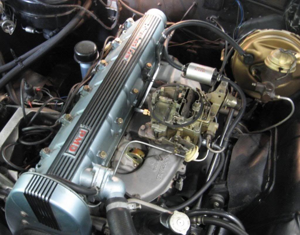 1966 PONTIAC OHC 6 SPRINT 230 C/i 207 Hp 10.5:1 CR &
