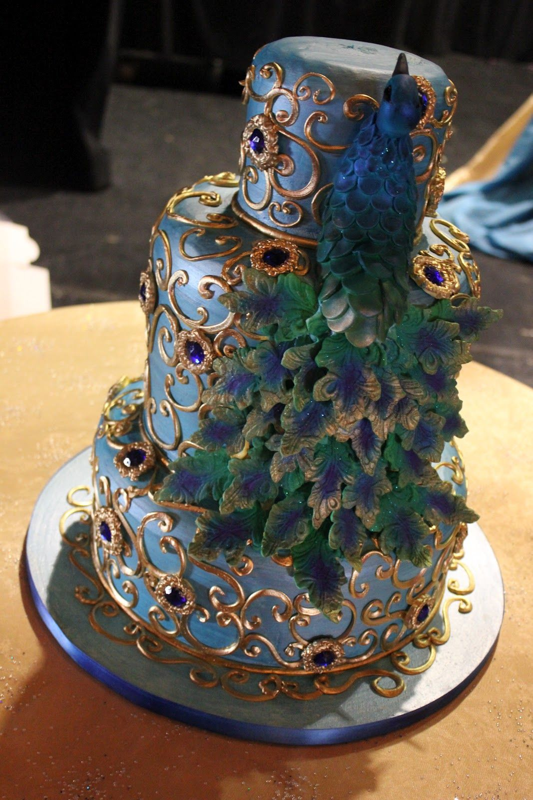 Peacock Cake Peacock Cake Peacock Wedding Cake Indian Wedding Cakes