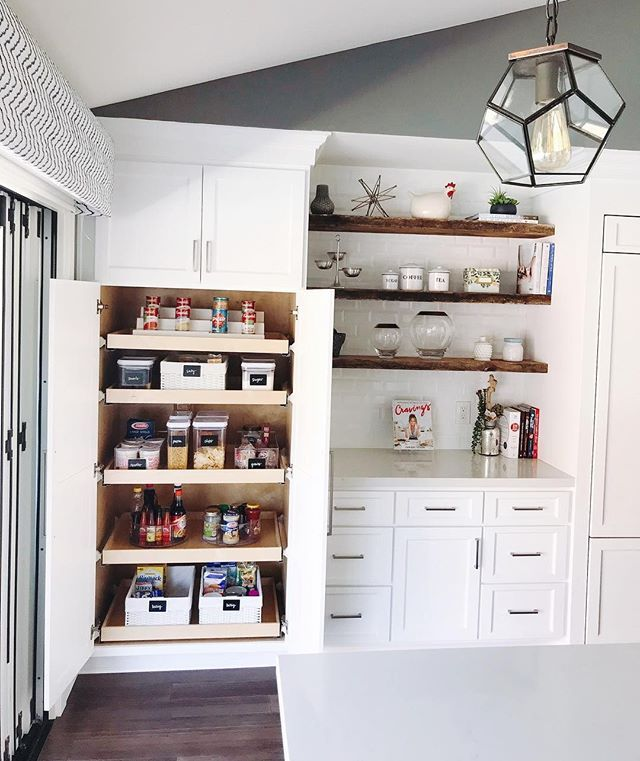 Interior Design Kitchen Organizer Best We ️ This Bright And Simple Pantry By Riorganize Be 720 5