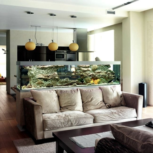 Take A Look In 14 Aquarium Ideas For Your Living Room That We Have Chosen