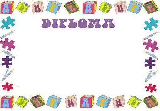 plantillas de diplomas para niños en word - Buscar con Google ...