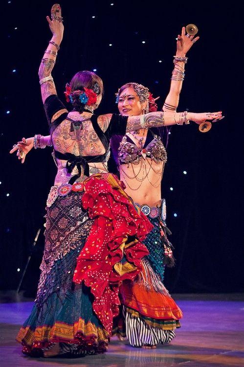 American Tribal Style dancers