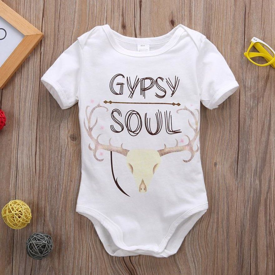 Model Number: Cute Animals White Jumpsuit Material: Cotton,Polyester Gender: Unisex Style: Fashion Sleeve Length: Short Pattern Type: Animal Collar: O-Neck Item Type: Bodysuits Department Name: Baby