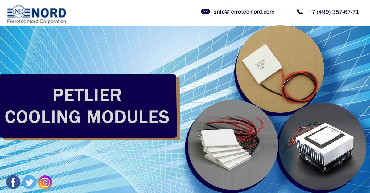 Peltier Modules In Thermoleectric Nord Generation Electronic