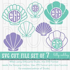 Free Beach SVG | pazzles | Cutting files, Mermaid shell