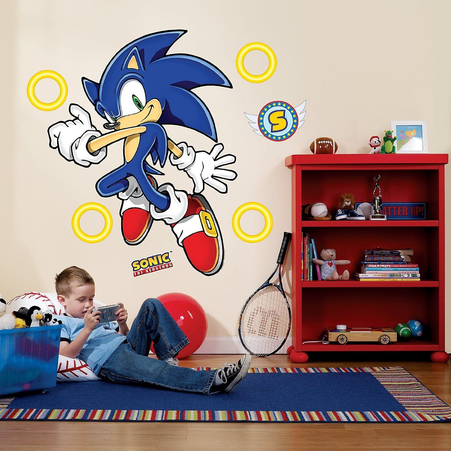 Sonic The Hedgehog Decor For Bedroom