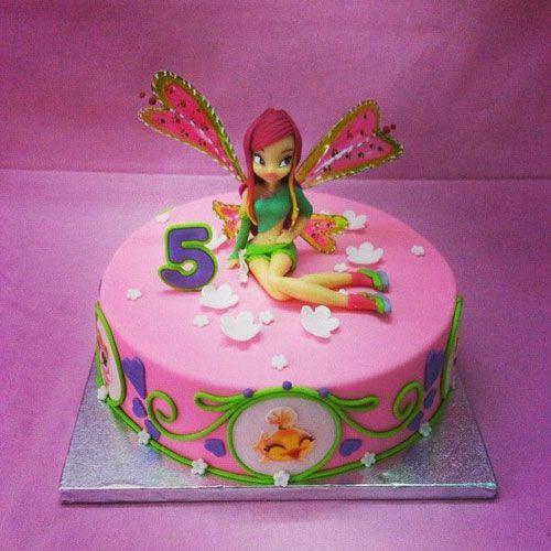 Torta Winx 02  TORTE  Pinterest  Club parties and Cake