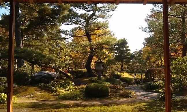 Kanazawa garden from the tea house