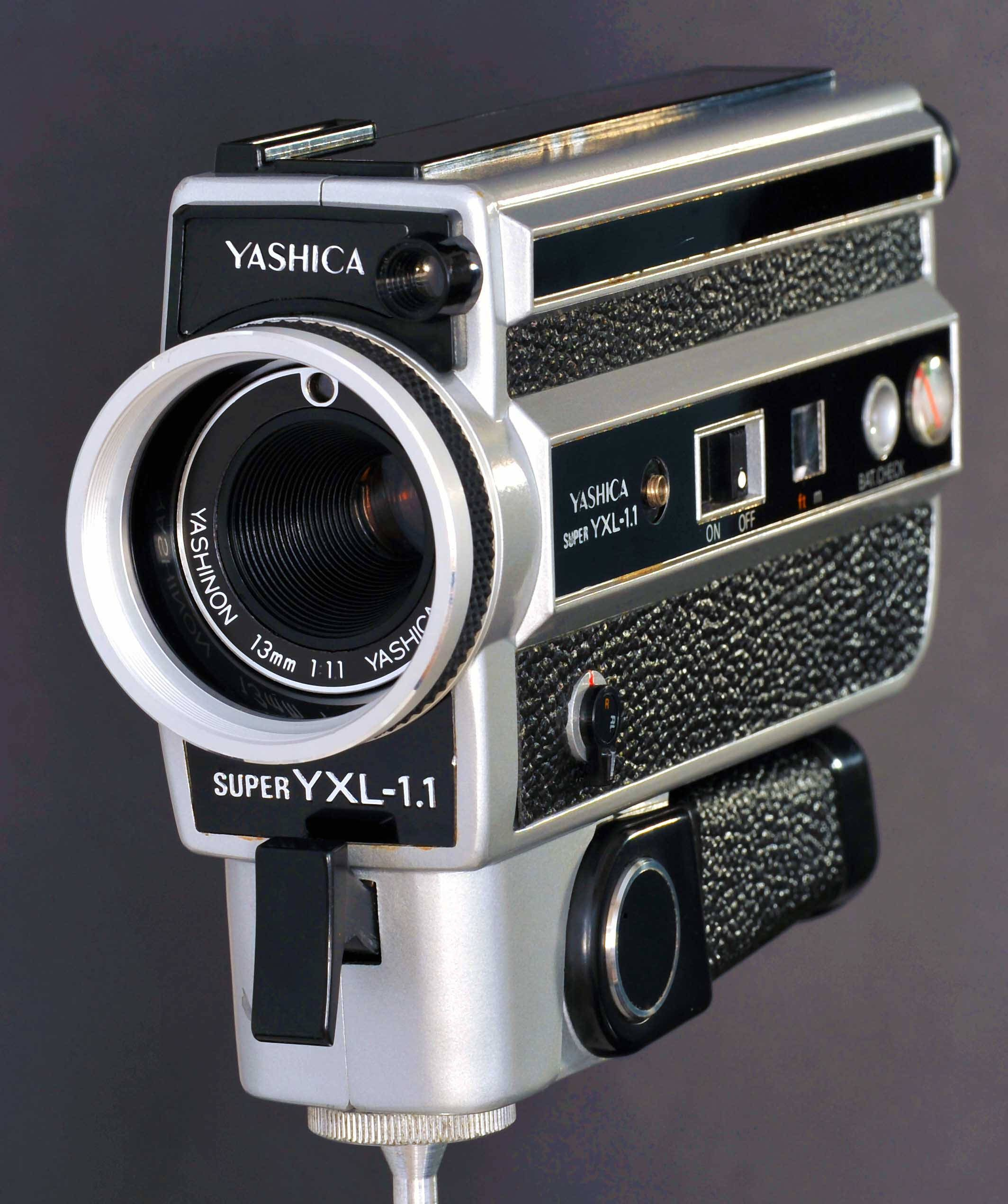 Yashica Super 8 YXL-1 1 S8 Movie Camera w 13mm f/1 1 Prime