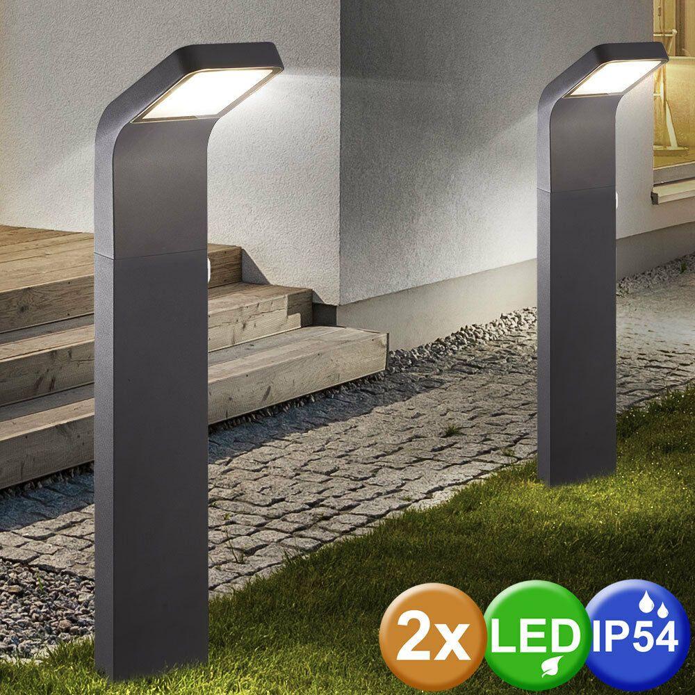 Eclairage De Terrasse Sur Pied 2x conduit extérieur sur pied support lampes terrain jardin