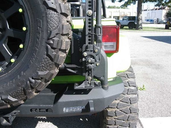 Ace Jk Pro Series Rear Bumper W Tire Carrier Jeep Wrangler Jk Jeep Wrangler Jeep