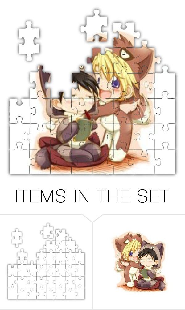 """""""Cute"""" by destiny-demon ❤ liked on Polyvore featuring art"""