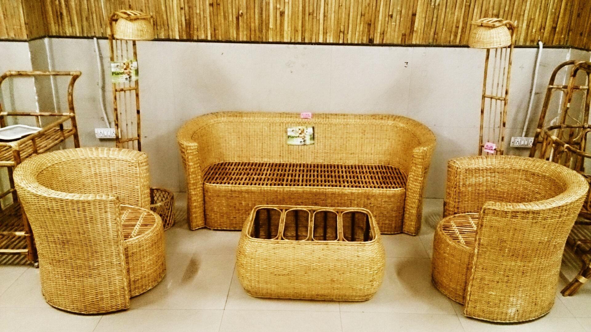 Bamboo Sofa Cane FurnitureBamboo FurnitureSofa Set OnlineBuy BambooBamboo CraftsIndia