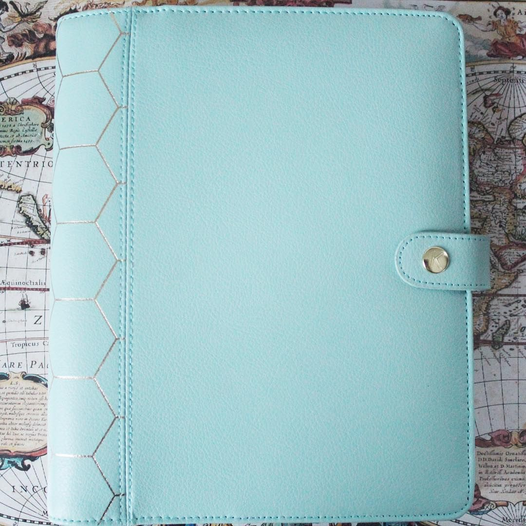Mint Blue Planner #kikkikdarkmint #desk #stationary #happy #kikkik #kikkikaddict #plannerlove #kikkiklove #planner #plannerlife #happy #stationary