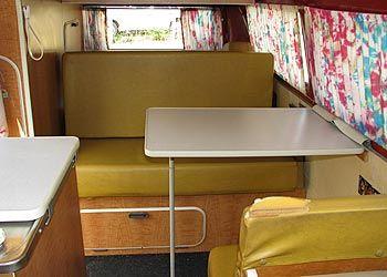 1971 VW Bus Interior   1971 VW Westfalia Bus Interior