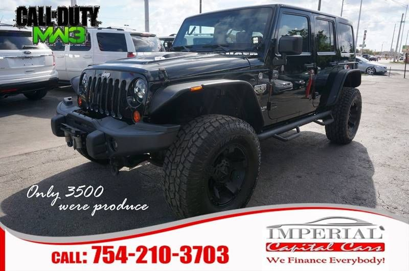 2012 Jeep Wrangler Unlimited For Sale At Imperial Capital Cars Inc