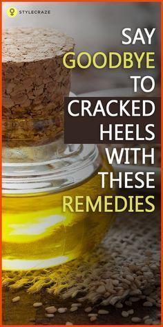Dry/cracked feet are a sign of lack of attention towards your body and one of the worst nightmares for most women. The skin on the feet tends to become drier as there are no oil glands present there. Here is a list of 10 simple home remedies that will help soothe and give a makeover to your cracked heels, and let you step out in style. #HomeRemedies #CrakedSkinOnFeet #CrackedSkinOnHeels #crackedskinonheels