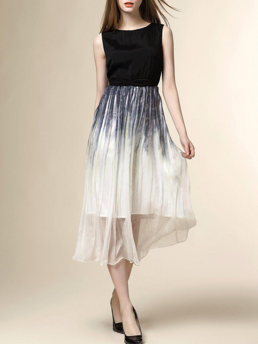 Adorewe stylewe midi dresses designer nexiia black sleeveless