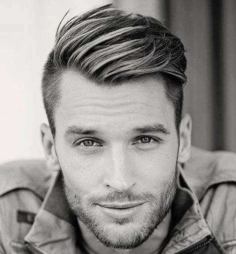 Mens Hairstyle For Round Face Mens Hairstyle With Beard Mens