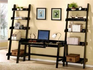 Emerald Home Furnishings Living Room Ladder Shelf A47 ...