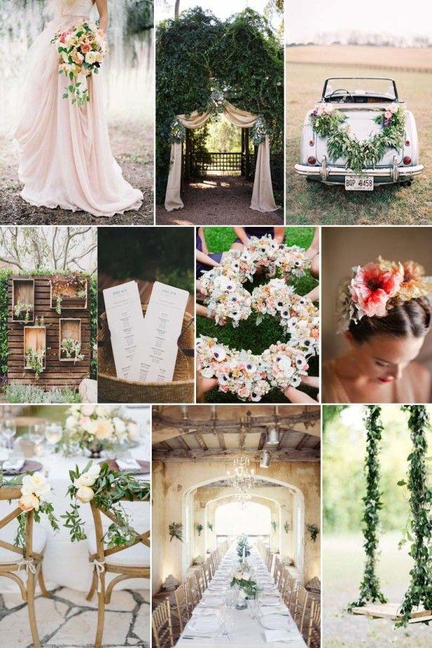 Cute Garden Wedding Ideas