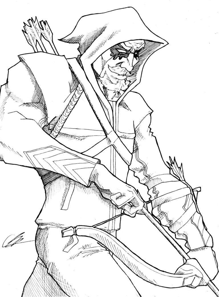 green arrow coloring pages Green Arrow by KingVego on DeviantArt | Superhero Coloring | Arrow  green arrow coloring pages
