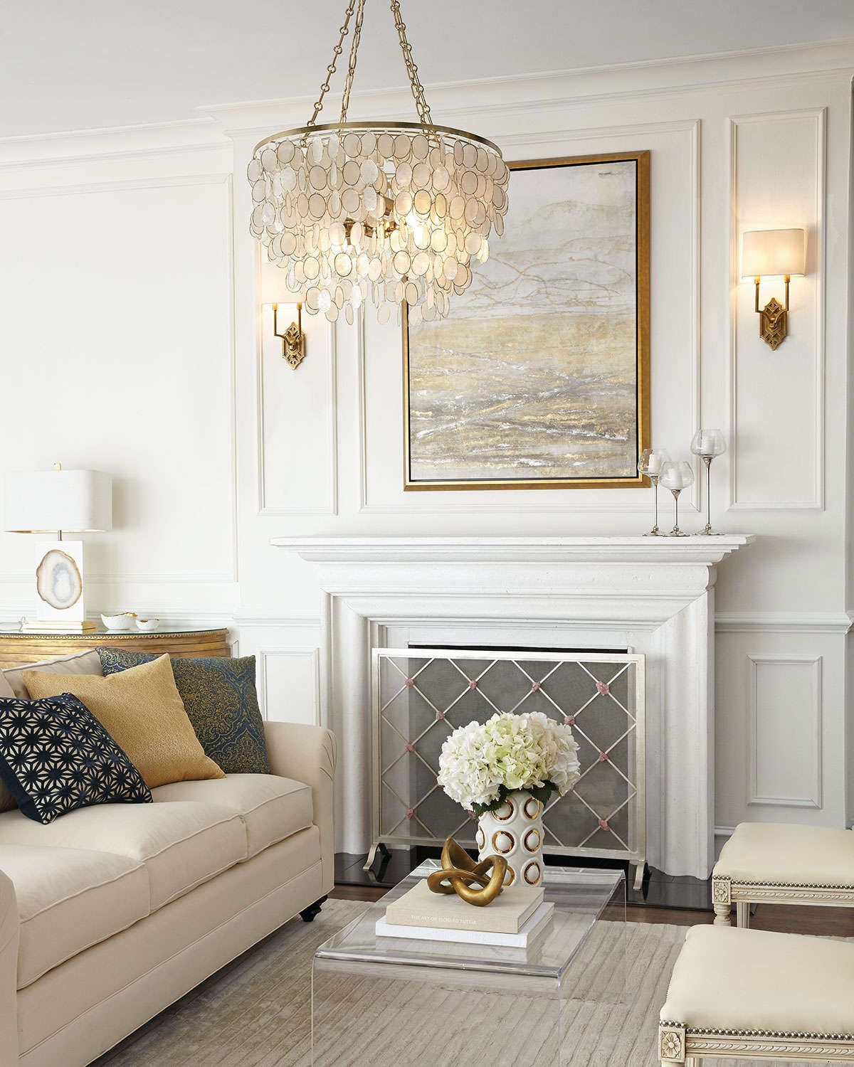 giallastro quartz accent fireplace screen fireplace screens