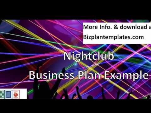 Nightclub Business Plan Example Business Plan Example - Nightclub business plan template