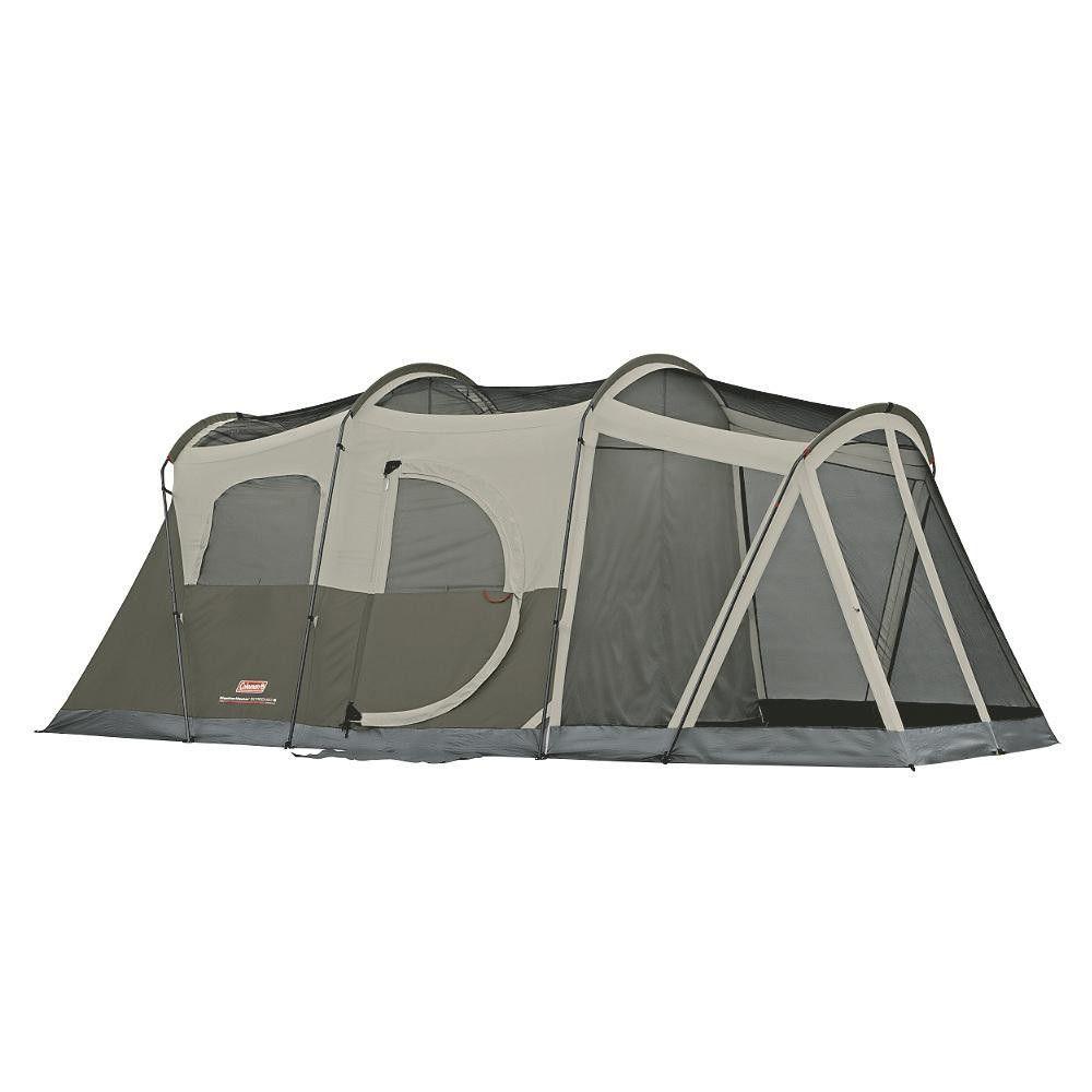 Coleman Weathermaster 6 17 X 9 Screened Tent W Hinged