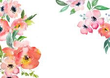 Watercolor Floral Card Template Download From Over 62 Million High Quality Stock Photos Images Vectors Sign Up Fo Floral Cards Flower Clipart Floral Signs