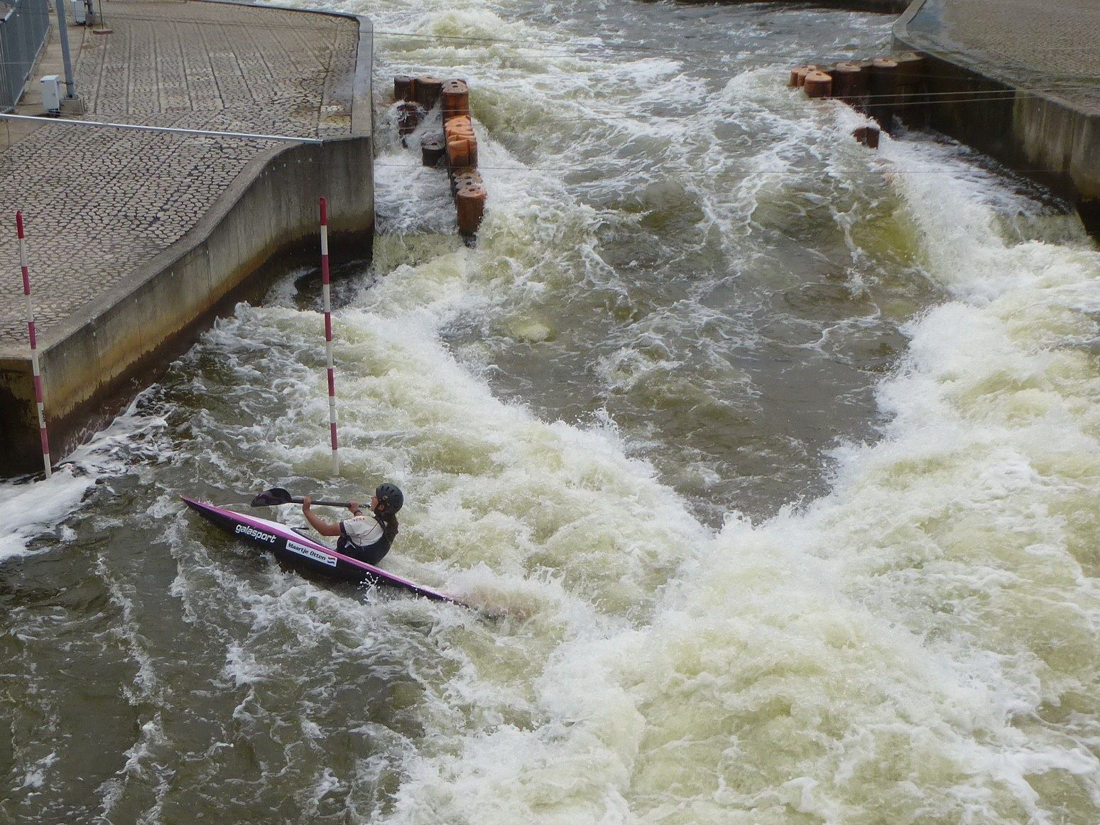 Had an amazing time today on the whitewater course in Zoetermeer, the Netherlands.