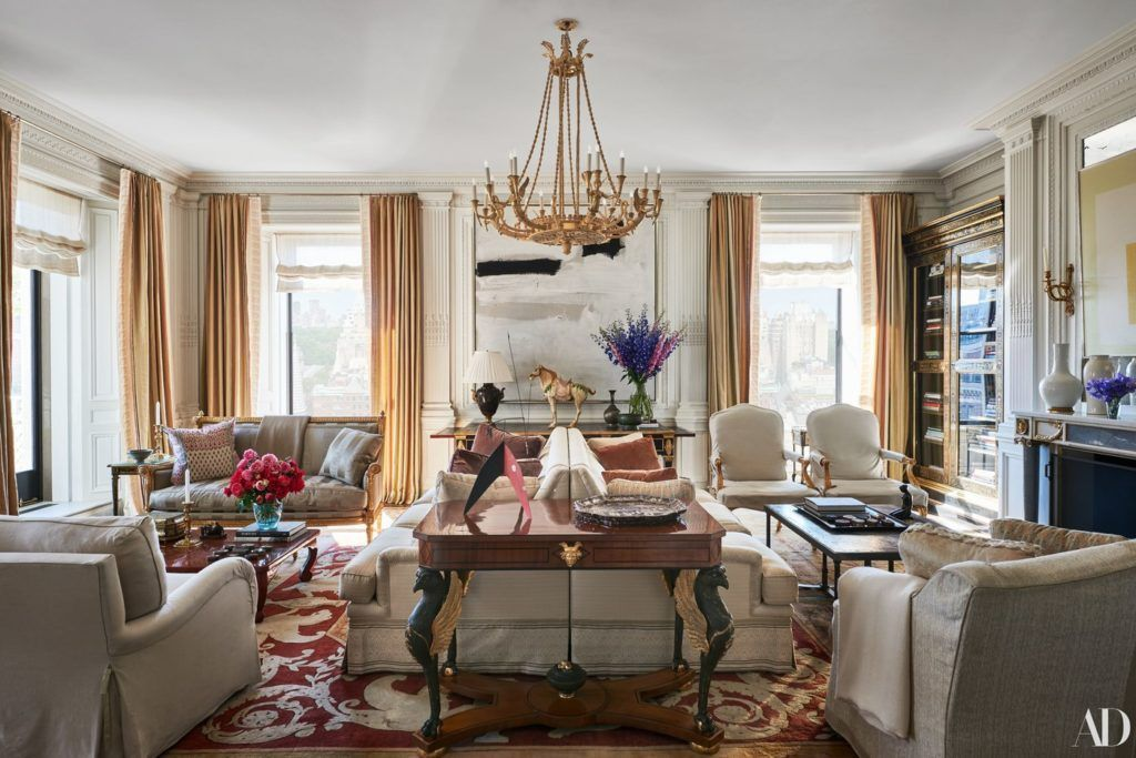 Michael S Smith Decorates A London Flat For A Los Angeles Couple