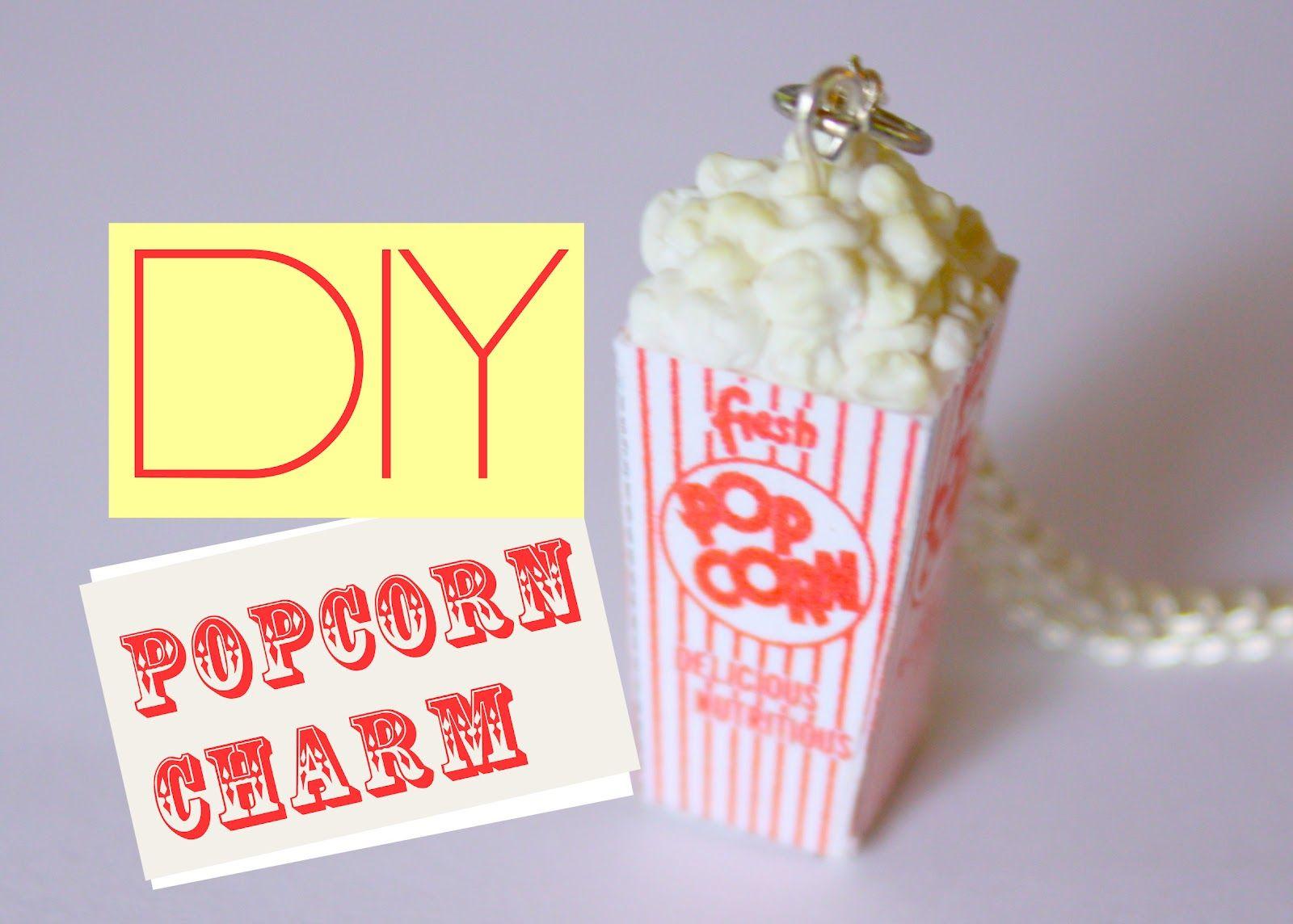 Pop corn pendant - Dije crispetas