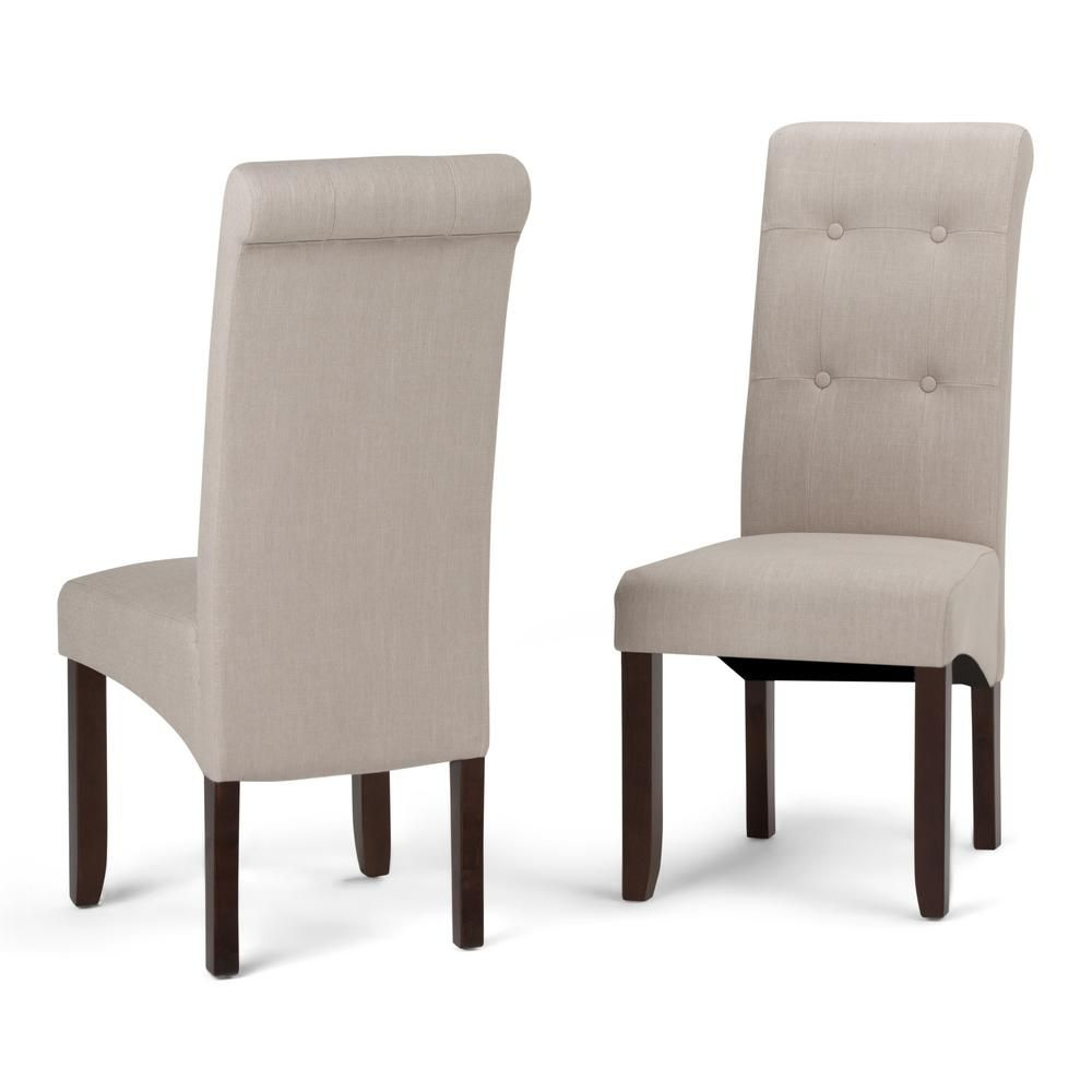 0169be607f60cd2cfec01c57399a4808 - Better Homes And Gardens Parsons Tufted Dining Chair Beige