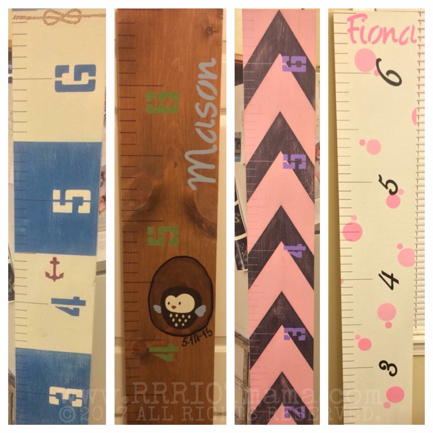 Hand painted growth chart rulers height ruler baby shower gift hand painted growth chart rulers height ruler baby shower gift custom wooden ruler geenschuldenfo Choice Image