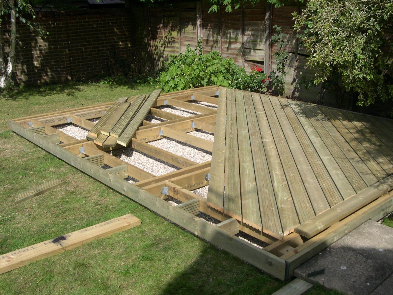 Home Decking Ideas Sun Deck In Berden Pallet Patio Decks