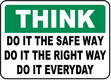Just do it! #SafetyFirst | Safety Quotes | Safety, Safety slogans