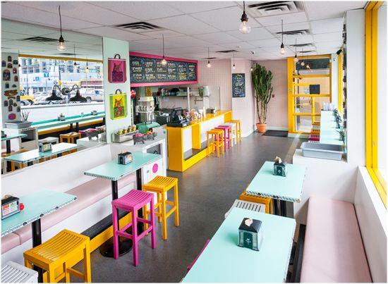 La Taqueria Cambie Diseno De Restaurante Taquerias Diseno De Interiores